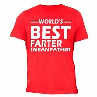 World's Best Farter I Mean Father T-SHIRT Father's Day Gift For Dad Shirt