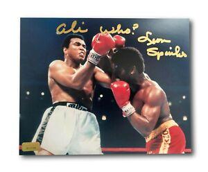 "Leon Spinks Signed 8x10 Photo Inscribed ""Ali Who?"" Michael 8x Muhammad Ali #2"