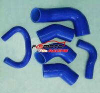 Silicone Intercooler Hose Pipe FOR Mitsubishi Lancer Evo 7 8 9 CT9A 4G63 BLUE