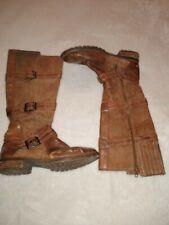 Womens Ariat size 9B Tall Brown Zip Boots