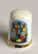 Porzellan Fingerhut Weihnachten 1994 Frika Thimble De A Coudre