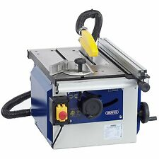 Draper 200mm 1100W 230V Cast Iron Workshop Power Cutting Table Saw - 82108