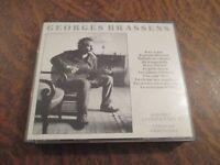 coffret 2 cd GEORGES BRASSENS il n'y a pas d'amour heureux
