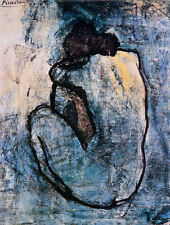 Blue Nude, c.1902 Art Poster Print by Pablo Picasso, 11x14