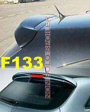 SPOILER  ALETTONE  OPEL CORSA  D  3 PORTE GREZZO IN POLIDUR F133G-TR133-1