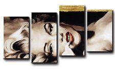 QUADRI MODERNI stampe su tela canvas intelaiati 140x75 4 pezziMARILYN 001