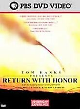 American Experience - Return With Honor (DVD, 2001) Tom Hanks NEW Free Shipping