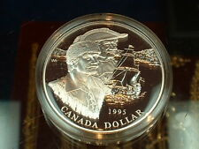 CANADA  1995  ****  PROOF CAMEO  SILVER DOLLAR   ****