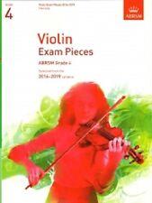 Grade 4  VIOLIN EXAM PIECES 2016 - 19  ABRSM Music Book violin part only