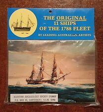 Postcards - The Original 11 Ships of the 1788 Fleet By Leading Australian Artist