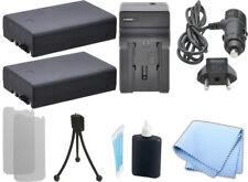 2 LI109 Battery + AC/DC Charger for Pentax K-2 K-S1 Kr K-500 + Starter Kit