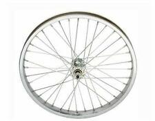 """Wheel 20"""" x 2.125"""" Steel Front Chrome Bicycle Wheel Cruiser Chopper Bike 286933"""