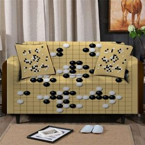 Ball Board Game Play Sofa Chair Couch Cushion Stretch Cover Slipcover Set Decor