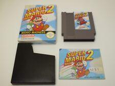 !!! NINTENDO NES SPIEL Super Mario Bros 2 OVP, gebraucht aber GUT !!!