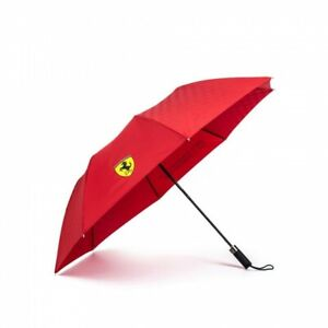 Ferrari red compact umbrella