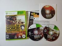 MICROSOFT XBOX X-BOX 360 MEDAL OF HONOR WARFIGHTER Project EDITION GAME 3 DISC