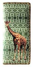 MLAVI GIRAFFE ANIMAL LARGE FLAT WALLET VEGAN FAUX LEATHER NEW (BW-MAW003)