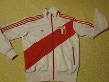 "⚡VESTE SURVETEMENT ADIDAS PEROU PERU COLLECTOR SOCCER TEAM MEDIUM D6 34""VINTAGE⚡"