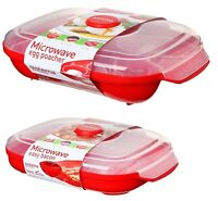 Sistema Microwave Egg Poacher for Up to 4 Eggs & Easy Bacon Healthy Cook Kitchen
