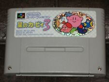 Hoshi no Kirby 3 Super Famicom Nintendo SFC SNES JP Japan Import III Dream Land