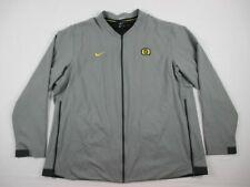Nike Oregon Ducks - Men's Gray Poly Jacket (3XL) - Used