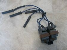 Saturn SL1 SOHC Sedan Ignitions Coils with Plug Wires 00 01 02 Used
