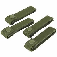 "Condor 223 OD Green 4"" Replacement MOLLE PALS MOD Modular Web Straps Gear 4 Pack"