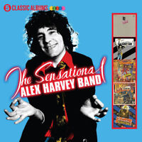 The Sensational Alex Harvey Band : 5 Classic Albums CD Box Set 5 discs (2017)