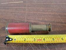 Vintage Pockescope Monocular Pocket Scope Mini Telescope Sailor Spotter