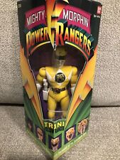 1993 Mighty Morphin Power Rangers Trini Yellow Ranger Action Figure Bandai CIB