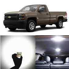 Alla Lighting Dome Light 578 212-2 White LED Bulbs For Chevy Silverado 1500 2500