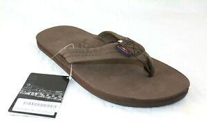 Men's Rainbow 301 Premier Leather Sandal Expresso Single Layer US MEN'S MEDIUM