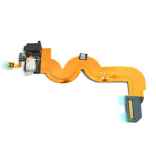 Charging Port Audio Jack Home Button Flex Cable For iPod Touch 5 5th Gen Black