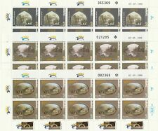 ISRAEL 1999 -  HOLYLAND PILGRIMAGE - MNH FULL SET - DS SHEETS - 1-3