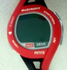 Mio EuroFit Petite Womens Sport Watch Calorie Timer Strapless Heart Rate Monitor