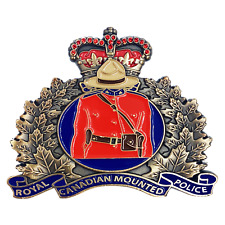 """2.5"""" RCM ROYAL CANADIAN MOUNTED POLICE CHALLENGE COIN"""