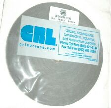"CRL Gray 3/8"" Adhesive Back Felt Tape for Building and Automotive. 2 - 17G - 04"