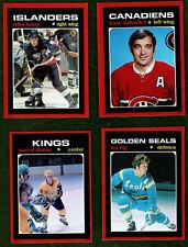 HIGH QUALITY FRIDGE MAGNETS ***1970'S NHL HOCKEY PLAYERS***!!  U-PICK!!