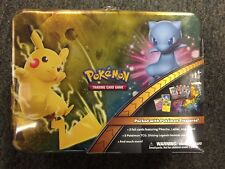 2017 Pokemon Holiday Treasure Chest Lunch Box Pikachu & Mew Shining Legends