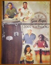 Gon Bops DW Percussion Congas Brochure catalog 2007 Collectible NEW