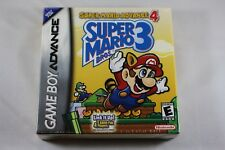 Super Mario Bros 3 4 Nintendo Game Boy Advance GBA NEW Factory Sealed Near Mint