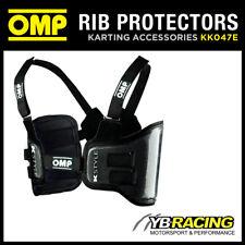 KK047E OMP K-STYLE KART CARBON FIBRE RIB PROTECTION VEST 4 SIZES KARTING