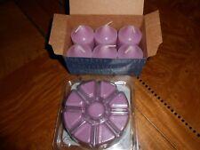 Partylite Sugar Plum Faeries -1 Box(6) Votives &1 Pack(9) Scent Plus Melts -Nib!