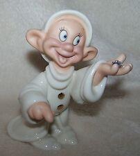 Lenox Dwarf Dopey's Delight Disney Showcase Snow White Figurine