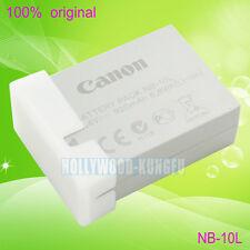 Genuina Original BATERÍA NB-10L NB10L para Canon PowerShot G1X G15 G16 SX40 HS