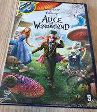 ALICE IN WONDERLAND : WALT DISNEY - Johnny Depp  SEALED - DVD