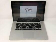 MacBook Pro 15 Mid 2012 MD103LL/A 2.3GHz i7 4GB 275GB SSD Fair Cond. - READ