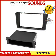 CT24TY17 Stereo Surround Fascia Panel Adaptor For TOYOTA Avensis T250 2003-2009