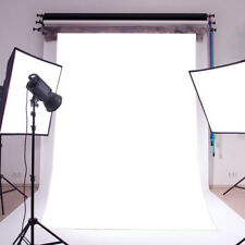 3X5FT Plain White Thin Vinyl Photography Backdrop Props CP Photo Background