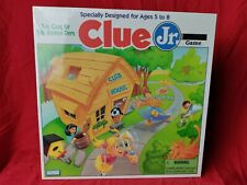 Vintage 1995 Clue Jr. Game Case of The Hidden Toys by Parker Brothers